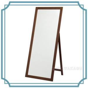 スタンドミラー 姿見 ワイド 全身鏡 木製 TM-4630|ohkawakagu