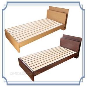 木製すのこベッド (引出し無し) ダブル sa・yu・ri さゆり