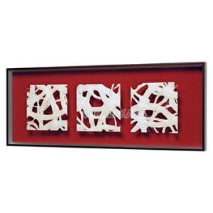 アートパネル インテリアパネル マサエコ MASAEKO 90×35cm デザインパネル 和モダン 立体額装 壁掛け 壁面 縦長 横長 IN3062/3198/3203