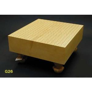 日向産榧4寸盤(G26) ohkubo-gobanten