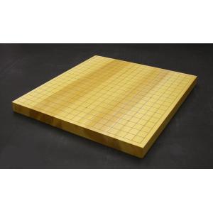 日向産1寸碁盤=532= ohkubo-gobanten