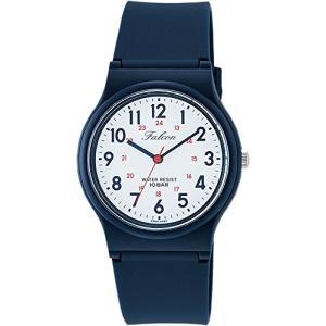 [シチズン キューアンドキュー]CITIZEN Q&Q 腕時計 Falcon ファルコン アナログ表示 10気圧防水 ウレタンベルト ホワイト VS04-001|ohmybox