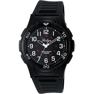 [シチズン キューアンドキュー]CITIZEN Q&Q 腕時計 Falcon ファルコン アナログ表示 10気圧防水 ウレタンベルト ブラック VP84-854|ohmybox