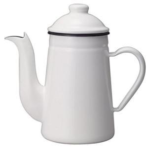 カリタ ホーロー製ポット コーヒ-達人・ペリカン 1L ホワイト #52125|ohmybox