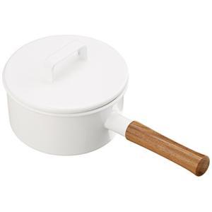 富士ホーロー 鍋 エトル ソースパン17cm ホワイト EE-17SW|ohmybox