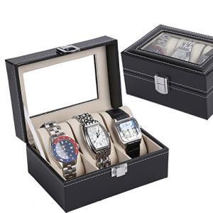 NENIRI 腕時計収納ケースボックス  コレクションケース ピアスネックレスリングジュエリ収納ケースボックス アクセサリー収納ケースボックス展示ディスプ|ohmybox