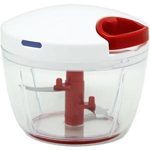 K&A みじん切り器 ふたも洗える ぶんぶんチョッパーR 大きめ640ml BBC-11|ohmybox