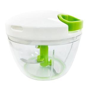 K&A みじん切り器 ふたも洗える ぶんぶんチョッパー 極 大きめ640ml レシピ付き 容量40%UP KIWAMI BBC-11A|ohmybox