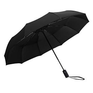 自動開閉 折りたたみ傘 大きい 軽量 高撥水 撥水加工 グラスファイバー 8本骨 晴雨兼用 日傘 耐...