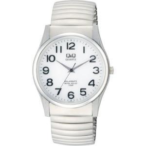 [シチズン キューアンドキュー]CITIZEN Q&Q 腕時計 SOLARMATE  ソーラー電源 アナログ 5気圧防水 ホワイト H970-214|ohmybox