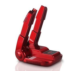 NotoCity 靴乾燥機 3段階調整可能 予約機能 除菌 消臭 折り畳み式くつ乾燥機 (レッド) 運動靴 クラブ ビジネスシューズのお手入れに|ohmybox