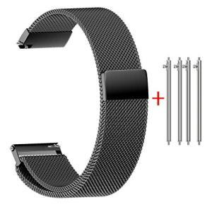 NotoCity マグネットクラスプ バンド 18mm 腕時計 バンド ステンレス製ベルト対応 Huawei watch|ohmybox