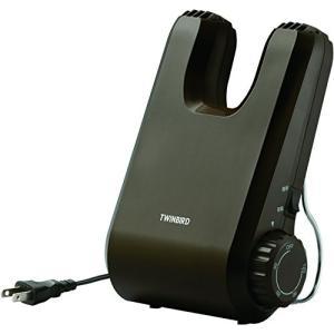 TWINBIRD くつ乾燥機 ブラウン SD-4546BR 悪臭対策 運動靴 クラブ試合前 ビジネスシューズのお手入れに|ohmybox