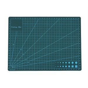 カッターマット 両面カッティングマット 3mm厚さ 下敷き 模型用 デスクトップ保護 工作 |ohmybox