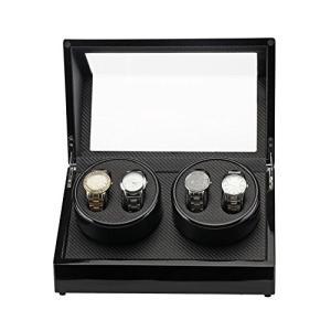 Kakuma ワインディングマシーン 高級ウォッチワインダー 2本巻き/4本巻き/4本巻き+収納 静音設計 自動巻き レディース メンズ時計対応|ohmybox