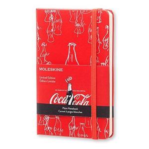モレスキン ノート 限定版 コカコーラ ハードカバー 無地 ポケット LECOQP012|ohmybox