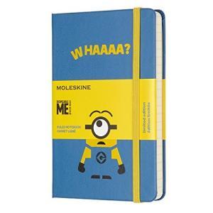 モレスキン ノート 限定版 ミニオンズ ポケット ブルー LEMI01MM710B29|ohmybox