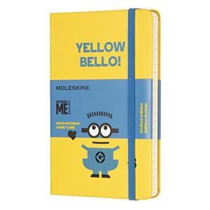 モレスキン ノート 限定版 ミニオンズ ポケット サンフラワーイエロー LEMI01MM710M10|ohmybox