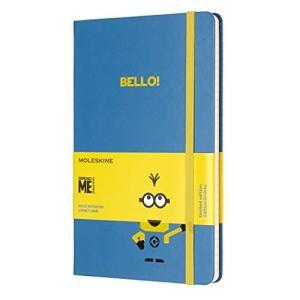 モレスキン ノート 限定版 ミニオンズ ラージ ブルー LEMI01QP060B29|ohmybox
