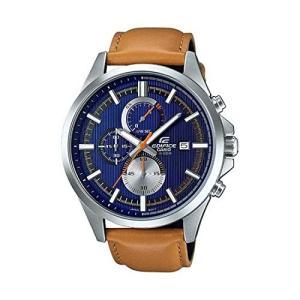 CASIO(カシオ) EDIFICE エディフィス EFV-520L-2A ブルー×キャメル 腕時計 メンズ [並行輸入品]|ohmybox
