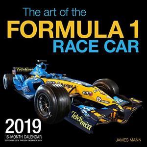 The Art of the Formula 1 Race Car F1レースカー 2019年カレンダー 2018年9月〜2019年12月 並行輸入|ohmybox