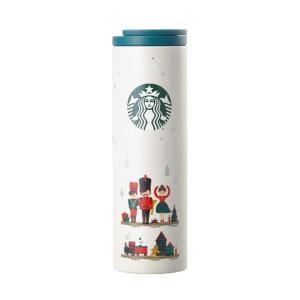 海外限定 スタバ トロイステンレスタンブラー Starbucks SS Troy Nutcracker Tumbler 473ml [並行輸入品] (Nutcracker)|ohmybox