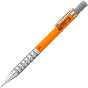 ぺんてる シャープペン スマッシュ 0.5mm Q1005-15A オレンジ メカ機構 金属チャック マットグリップ|ohmybox