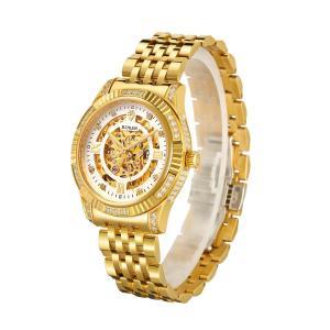 腕時計 メンズ スケルトン BINLUN 自動巻き 防水 高級感 おしゃれ 金腕時計 [並行輸入品]|ohmybox