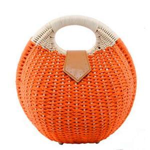 (シカ) Cika かごバッグ 水着 浴衣 カゴバッグ バッグ レディース 円形バスケット 鞄 カバン ハンドバッグ ガーリー ロマンティック|ohmybox