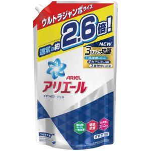 アリエール 洗濯洗剤 液体 イオンパワージェル サイエンスプラス 詰め替え ウルトラジャンボ 1.90kg|ohmybox