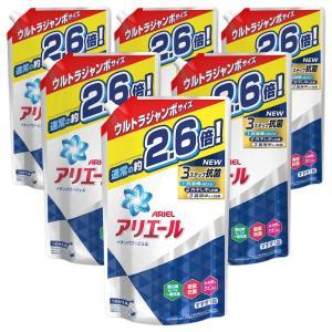 ケース販売 アリエール 洗濯洗剤 液体 イオンパワージェル 詰め替え ウルトラジャンボ 1.90kg...