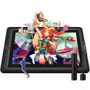 ◆傾き検知機能付き:XP-Pen Artist 15.6 Proは、60°の傾き検知をサポートします...