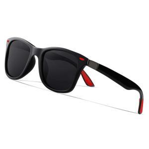 Yveser メンズ レディース 偏光 サングラス おしゃれ 偏向レンズ 超軽量フレー UV400紫外線|ohmybox