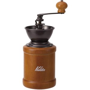 自宅で美味しいコーヒー カリタ Kalita コーヒーミル 手挽き ブラウン KH-3BR #420...