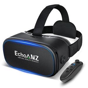 EchoAMZ 3D VRゴーグル Bluetoothコントローラ付属 (ブラック) ohmybox