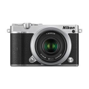 Nikon 1 J5 シルバー ミラーレス一眼カメラ/アドバ...