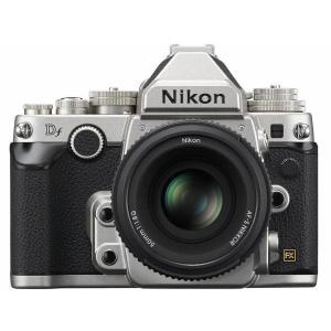 Nikon デジタル一眼レフカメラ Df LensKit SpecialEdition シルバー レンズキット 50mm f/1.8G