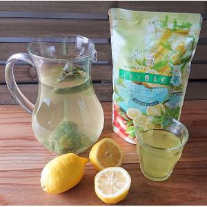 lemon 水出し 無添加 レモンマートル 煎茶 緑茶 フレーバーティー ティーバッグ 送料無料 国...