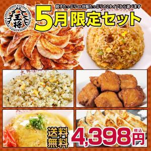 大阪王将 大阪王将選べる! 5月限定セット 送料無料 ギフト 行楽 お弁当 一人暮らし 冷凍食品