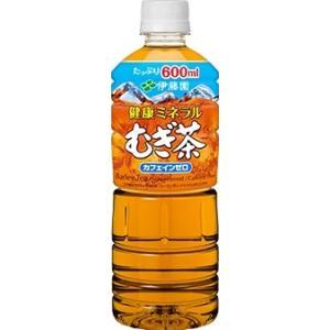一部地域送料無料 伊藤園 健康ミネラル麦茶 600mlペットボトル×24本入(北海道・東北・四国・九...