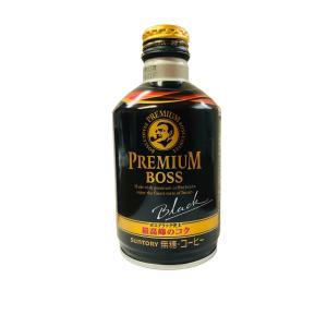 「プレミアムボス」の特長である、ブラジル最高等級豆100%の微粉砕コーヒー豆を絶妙にブレンドする製法...