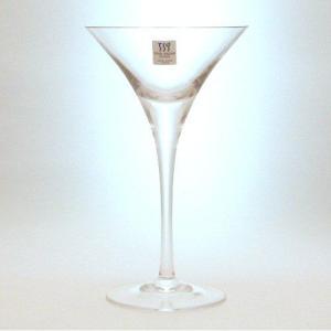 カクテルグラス ハンドメイド セミレッドクリスタル 120ml