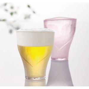 ビールグラス 泡立ちグラス ビアハート2個入り ギフトセット 東洋佐々木ガラス製|oi-con