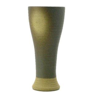 陶器ビールグラス 黒伊賀吹タンブラー(美濃焼)310ml oi-con
