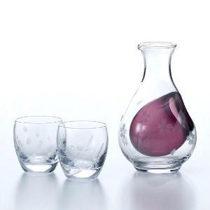 日本酒グラス 冷酒ギフトセット 雪月花 東洋佐々木ガラス製 oi-con