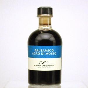 バルサミコ酢 アグロ・ディ・モスト 250ml イタリア産 プレミアム バルサミコ ビネガー oi-con