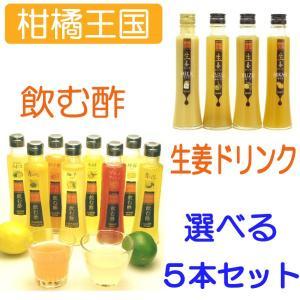 父の日ギフト 柑橘王国 飲む酢&飲む生姜 ソフトドリンク選べ...