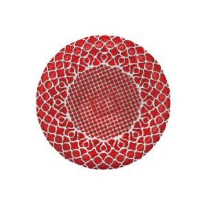 M-style『HANA(ハナ)』シリーズのガラス製丸皿です。  【食器分類】 種類:ガラス食器 サ...
