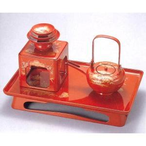 優雅な古典美と深い味わいがある日本の伝統工芸品「越前漆器」のお屠蘇セット。 お正月の祝い酒として欠か...