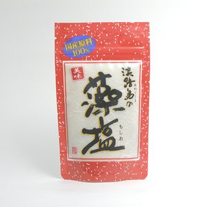 多田フィロソフィ 淡路島の 藻塩(茶) スタンドパック 100g oi-con